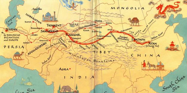İpek Yolu Tarihi ve Güzergahı